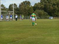 Andy O Connell Steps up for a Free Kick