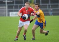 Cork Star Eoghan Buckley In Action