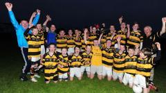 Buttevant Under 14 Footballers league winner's