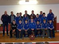 Under 13 Team. Bord Na Nog Presentation Nov.22nd 2014