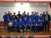 Under 14 Team 2014 at Bord Na Nog Presentation Nov.22nd 2014.