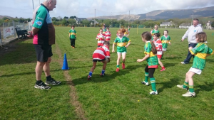 Action at U8 Blitz in Castletownbere May 2015