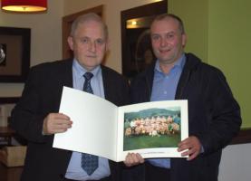 Presentation of 1990 Under 21 Team Photo