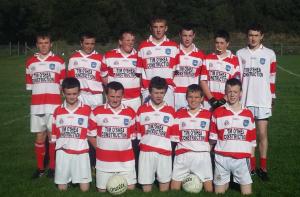 U16 Team before County Final October 2014