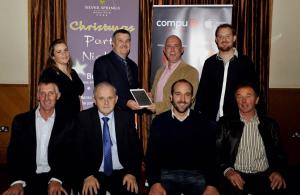 Adrigole receives Cork GAA Communications Award 2014