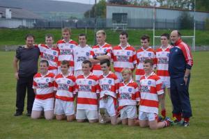 U16 - Western Championship Winners V Clann na Gael October 2015