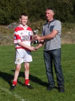 U16 Presentation to Winning Captain of County Final October 2014