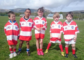 Adrigole Under 8 First outing-Blitz Castletownbere May 2015