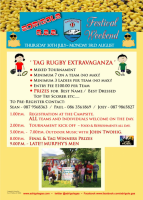 Tag Rugby Poster 2015
