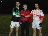 Jack Horgan,Brian O'Regan and Referee James Dorgan