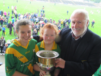Rackard League Camogie Cup Presentation