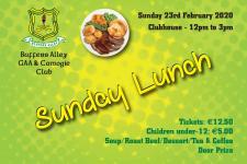 Sunday Lunch 2020