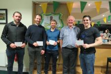 Winners Tony Doran Quiz 2019