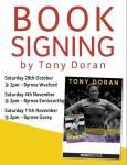 Tony Doran to sign Autobiography