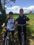Mick & Eileen took to cycling to raise funds for Aware & St. Vincent de Paul