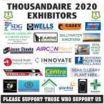 Thousandaire Exhibitors 2020