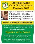 Club Registration/Membership 2019