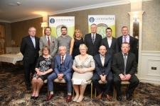 An Coiste Náisiunta 2017 with guests