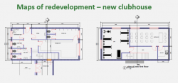 Map of new Clubhouse
