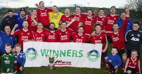 2017 Crebisol Bobby Dalzell Cup winners Ballyvea