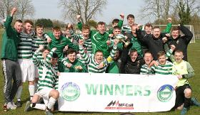 2018/19 McCalls NADAFL Division Two Winners Celtic Bhoys Academy