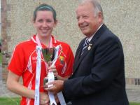 Cork Minors 2013 Captained by Sinead Cotter St.Vals