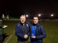PADRAIC SYRON-PLAYER OF THE YEAR.