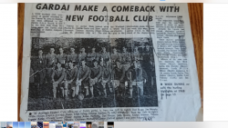 RELAUNCH OF GARDA GAA CLUB 1968