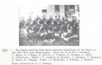 1910 WC Hurling Champions Bandon