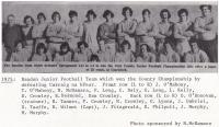 1975 County Junior Football Champions Bandon