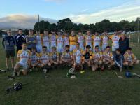 2018 Minor Non Exam Hurling League Winners