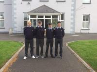 Students visiting Castletown