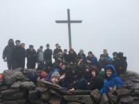 4th years climb Carrauntoohill