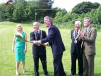 Sod Turning of New Mini Pitch Castlebar_image5307