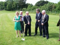 Sod Turning of New Mini Pitch Castlebar_image5306