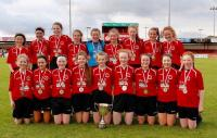 U14 Girls Champions Real Tubber