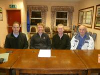 New Fence Contract Signing