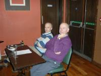 Seamus Cashin & Paul Egan assisting Peter Glynn