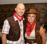 Wild West Party Presidents Night 2010, Yvonne Kilcullen with Seamus Kyne