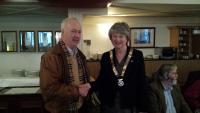 District Governor Visit 1st April 2014