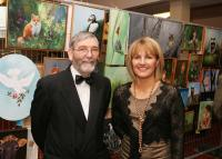 Joe Beirne and Vivienne Kyne at Art Expo Sale