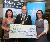 ISPCC Presentation of 3,000 Cheque