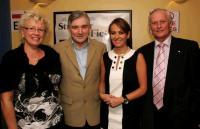 Ans de Koning, professional artist with Henry & Bernardine McGlade