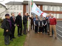 Lets Move Flag Raising at St Pats National School