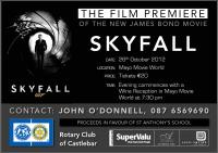 James Bond Rotary Premiere