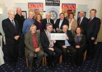 KOPO - Presentation of Cheque to Fr Michael Brady_image42189