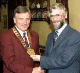 Some Past Presidents - Henry McGlade and Martin McGarrigle
