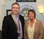 President Fred Flynn with Vice President Breda Gilvarry 2011-2012