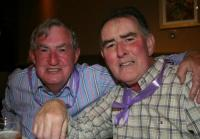 John Hanley & Tommy Carney at Pat Gallagher Presidents night