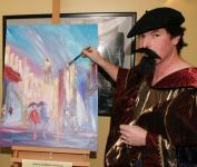 John Kilcullen as Van Gogh